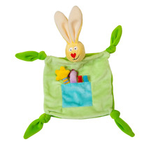 59401   taf rabbit blankie green