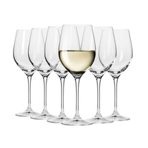 Krosno White Wine Glasses Set of 6