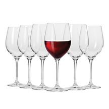 Krosno Red Wine Glasses Set of 6