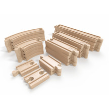 Hape Expansion Rail Track Pack