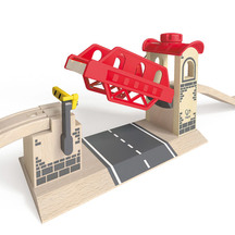 Hape Train Lifting Bridge