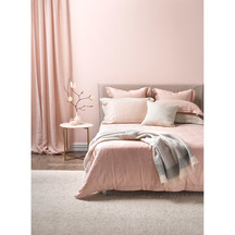 Thread Design Blush Linen Duvet Set