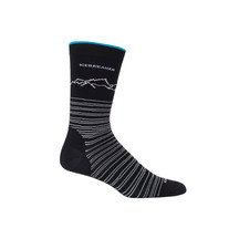 Icebreaker Men's Lifestyle Crew Fine Gauge Sock