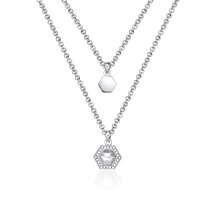 Kat Gee Geometry Layered Necklace