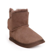 Emu Platinum Baby Bootie Chocolate Slipper