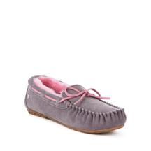 Emu Amity Slipper - Ash/Pink