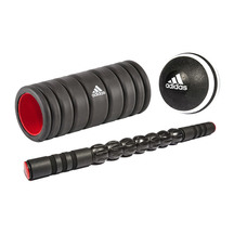 Adidas Foam Roller and Massage Set
