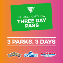 Village Roadshow Three Day Pass
