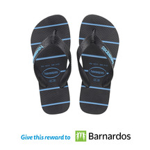 Havaianas Kids Top Trend Jandals Navy (Donation)