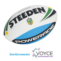 NRL Replica Rugby League Ball - Match Size 5 (Donation)