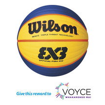 Wilson Basketball FIBA 3x3 Ball (Donation)