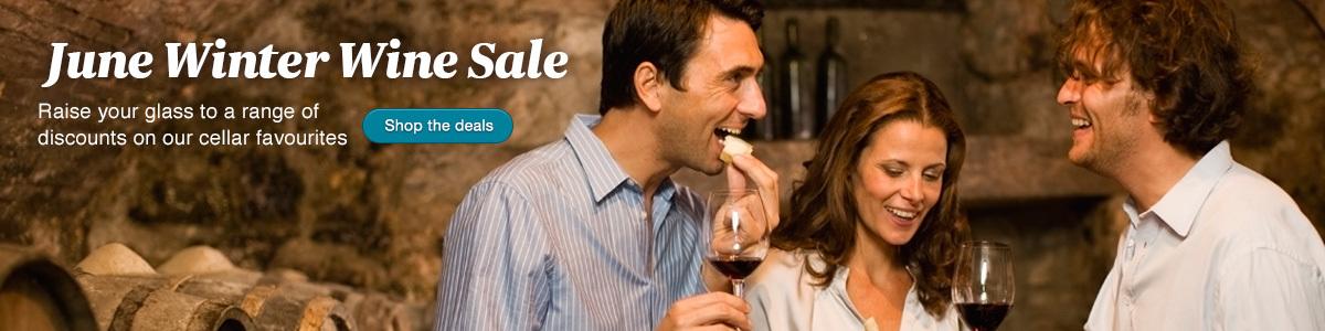 Wine sale banner