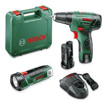 Bosch PSR 10.8 LI Cordless Drill/Driver with Bonus PLI 10...