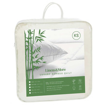 Linens&More Bamboo Duvet King Single