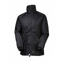 Rainbird Adult Stowaway Rain Jacket - Black