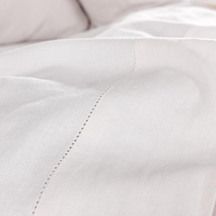 SENECA Union Hemstitch Sheet Set - White