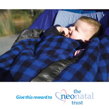 Swanndri Buggy Blanket - Blue/Black (Donation)