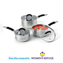 Wiltshire 3 Piece Cookware Set (Donation)