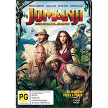 Jumanji Blu Ray