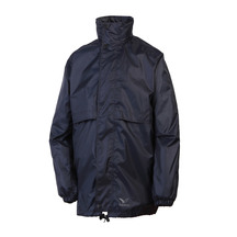 Rainbird Kid's Stowaway Rain Jacket - Navy