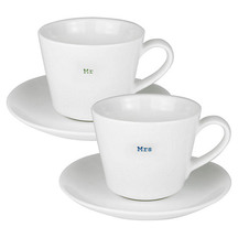 KBJ Mr and Mrs Espresso Cups