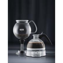 Bodum Pebo Vacuum Coffee Maker & Electric Coffee Grinder