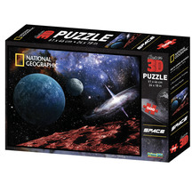 Super 3D 500-Piece View From Mars Jigsaw Puzzle