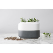Chef'N Ceramic self watering Herb Pot