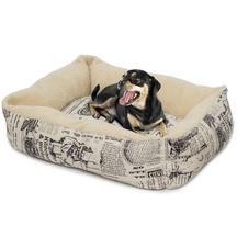 Paws and Pals Polyester Pet Bed