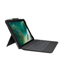 "Logitech Slim Combo Keyboard Folio for iPad Pro 10.5"" - B..."