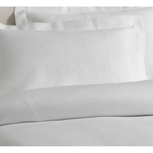 Baksana Pure White Oxford Pillow Case Pair
