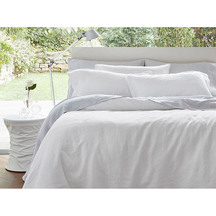 Baksana Linen Duvet Cover Set Queen