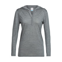 Icebreaker Women's Cool-Lite ™ Sphere Long Sleeve Hood Me...