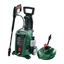 Bosch AQT 125 High Pressure Washer with Bonus Patio Cleaner