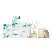 Linden Leaves Aqua Lily Soy Candle, Diffuser and Hand Cream