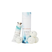Linden Leaves Aqua Lily Bath Bombs and Hand Cream