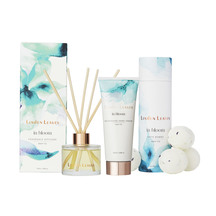 Linden Leaves Aqua Lily Fragrance Diffuser, Bath Bombs an...