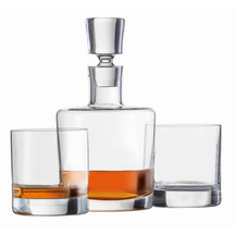 Schott Zwiesel Paris Decanter & 2 Whisky Glasses Set     ...