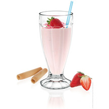 Borgonovo Icecream/Milkshake Glass 400ml Set of 6
