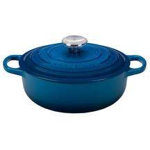 Le Creuset Cast Iron Low Round Casserole Limited Edition ...