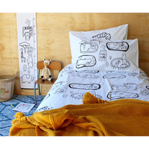 Henry and Co Zoo World Duvet Cover