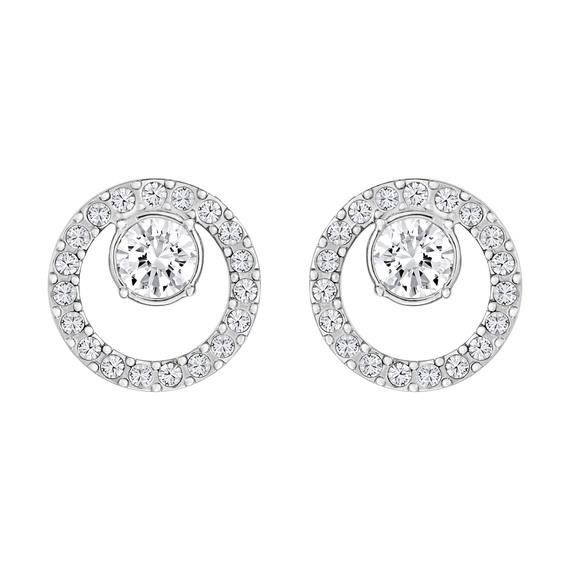 4a19a5ca4 Fly Buys: Swarovski Creativity Circle Pierced Earrings