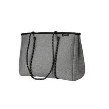 Punch Neoprene Zip Tote Bag w. purse