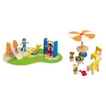 Hape Playground & Patio Set