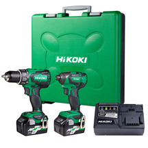 HiKOKI 18V Brushless Combo Kit