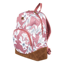 ROXY Fairness Brown Floral Backpack