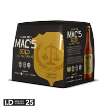 Mac's Gold 12 Pack Bottles 330ml