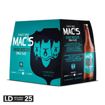 Mac's Three Wolves Pale Ale 12 Pack Bottles 330ml