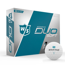 Wilson Women's DUO Soft White Golf Balls