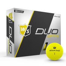 Wilson DUO Soft Optic Yellow Golf Balls